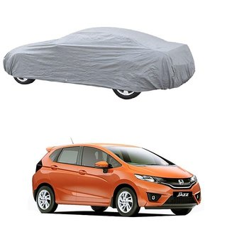 DrivingAID UV Resistant Car Cover For Renault Koleos (Silver Without Mirror )