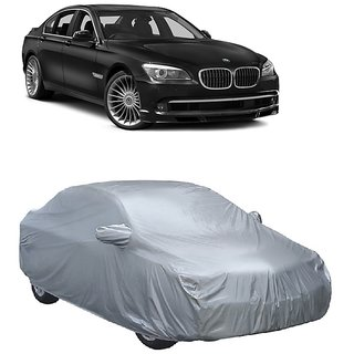 RideZ All Weather  Car Cover For BMW Alpina B7 (Silver With Mirror )