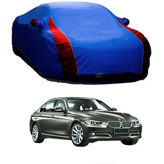 DrivingAID All Weather  Car Cover For Mahindra 500 (Designer Blue  Red )