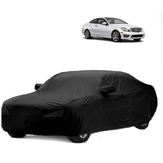 DrivingAID All Weather  Car Cover For Mercedes Benz Benz S 300 (Black With Mirror )