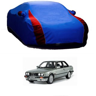 DrivingAID All Weather  Car Cover For Chevrolet Aveo Uva (Designer Blue  Red )