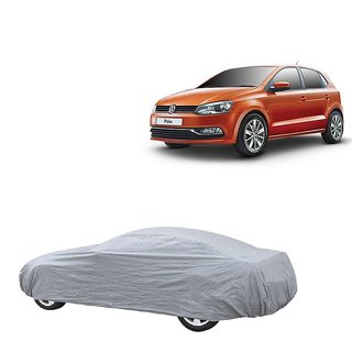 DrivingAID UV Resistant Car Cover For Maruti Suzuki S-Cross (Silver Without Mirror )