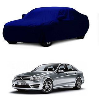 RideZ UV Resistant Car Cover For Maruti Suzuki Astar (Blue With Mirror )