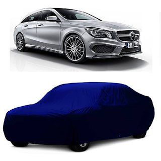 DrivingAID UV Resistant Car Cover For Mercedes Benz Benz S Class S350 (Blue Without Mirror )