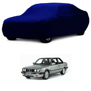 DrivingAID Car Cover For Chevrolet Aveo Uva (Blue Without Mirror )