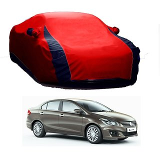 RideZ UV Resistant Car Cover For Toyota BRZ (Designer Red  Blue )