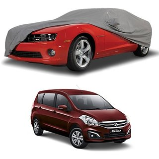 RideZ UV Resistant Car Cover For Hyundai Elite I20 (Grey With Mirror )