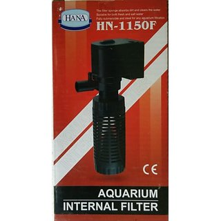 COLOURFUL AQUARIUM  Aquarium Internal Filter HANA HN- 1150 F - Best Filter For Small Aquarium