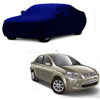DrivingAID Car Cover For Maruti Suzuki Stingray (Blue With Mirror )