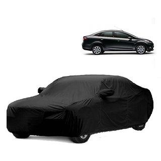 RoadPluS Car Cover For Jaguar F-Pace (Black With Mirror )