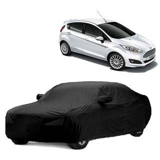 RoadPluS Car Cover For Jaguar F-Type (Black With Mirror )