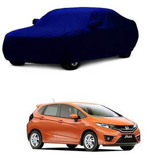 DrivingAID Car Cover For SsangYong Rexton (Blue With Mirror )