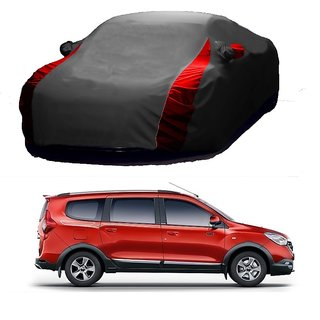 MotRoX UV Resistant Car Cover For BMW ML (Designer Grey  Red )