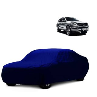 RideZ UV Resistant Car Cover For Chevrolet Optra SRV (Blue Without Mirror )