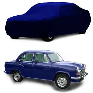 MotRoX Car Cover For Mahindra Armada (Blue Without Mirror )