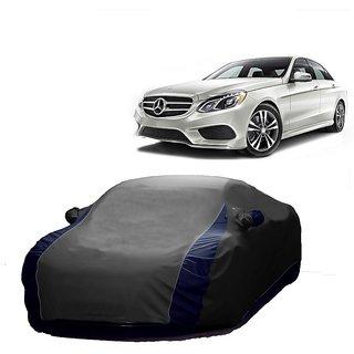 RideZ UV Resistant Car Cover For Hyundai Creta (Designer Grey  Blue )