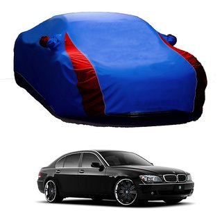 RideZ UV Resistant Car Cover For Nissan 370z (Designer Blue  Red )