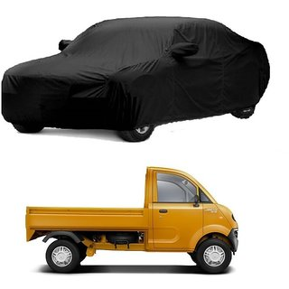 RideZ UV Resistant Car Cover For SsangYong Korando (Black With Mirror )