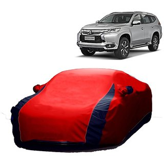 RideZ UV Resistant Car Cover For Fiat Punto Evo (Designer Red  Blue )
