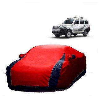 RideZ UV Resistant Car Cover For Audi Q3 (Designer Red  Blue )