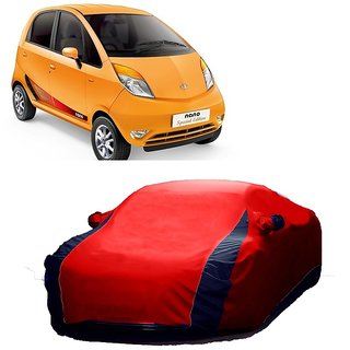 RideZ UV Resistant Car Cover For Audi Q5 (Designer Red  Blue )
