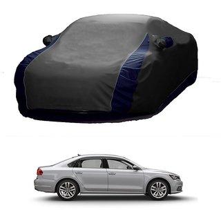 RideZ UV Resistant Car Cover For Audi RS5 (Designer Grey  Blue )
