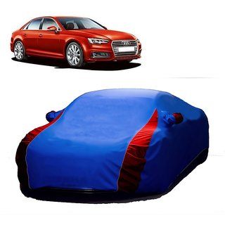 DrivingAID All Weather  Car Cover For Audi A7 (Designer Blue  Red )