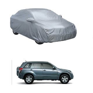 RideZ UV Resistant Car Cover For Nissan GT-R (Silver With Mirror )