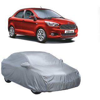 RideZ UV Resistant Car Cover For Mahindra Armada (Silver With Mirror )