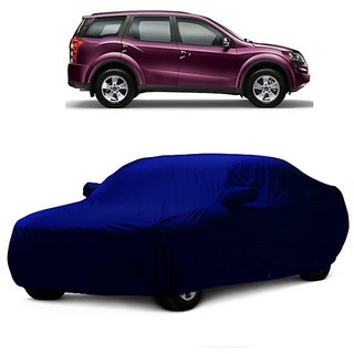RideZ UV Resistant Car Cover For Toyota Corolla (Blue With Mirror )