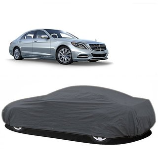 RideZ UV Resistant Car Cover For Mercedes Benz SLK (Grey Without Mirror )