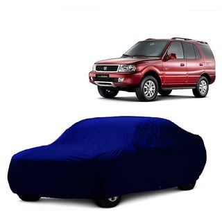DrivingAID Car Cover For Maruti Suzuki Swift Dzire Old (Blue Without Mirror )