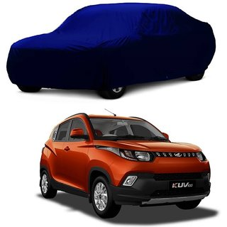 RideZ UV Resistant Car Cover For Maruti Suzuki Zen Estilo T-2 (Blue Without Mirror )