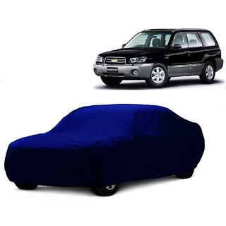 Bull Rider Water Resistant  Car Cover For Toyota Fortuner Old (Blue Without Mirror )