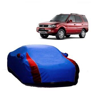 RideZ UV Resistant Car Cover For Maruti Suzuki Swift Dzire New (Designer Blue  Red )