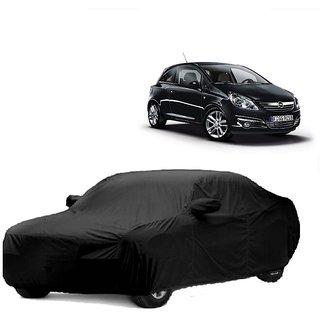DrivingAID All Weather  Car Cover For Maruti Suzuki Celario (Black With Mirror )
