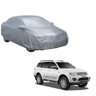 MotRoX UV Resistant Car Cover For Audi RS5 (Silver With Mirror )