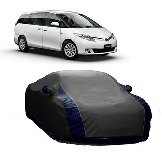 AutoBurn Water Resistant  Car Cover For Audi S7 (Designer Grey  Blue )