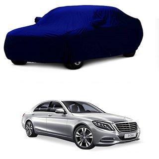 Bull Rider Water Resistant  Car Cover For Maruti Suzuki Wagon R (Blue With Mirror )