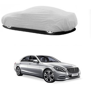 DrivingAID Water Resistant  Car Cover For Opel Corsa (Silver Without Mirror )