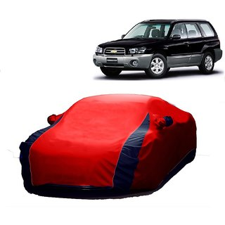 MotRoX Water Resistant  Car Cover For Nissan Frontier (Designer Red  Blue )
