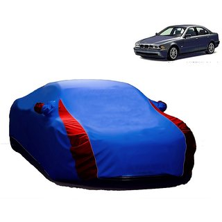 RideZ UV Resistant Car Cover For Nissan 350 (Designer Blue  Red )