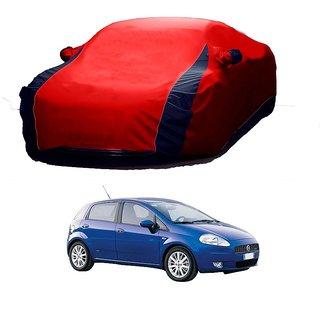 Bull Rider Water Resistant  Car Cover For Tata Hexa (Designer Red  Blue )