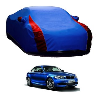 InTrend Water Resistant  Car Cover For Maruti Suzuki WagonR Stingray (Designer Blue  Red )