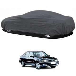 DrivingAID UV Resistant Car Cover For Toyota Camry (Grey Without Mirror )