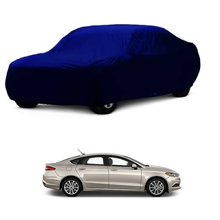 Bull Rider Water Resistant  Car Cover For Hyundai Getz (Blue Without Mirror )