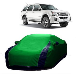 DrivingAID All Weather  Car Cover For Fiat Palio (Designer Green  Blue )