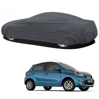 Bull Rider Car Cover For Volkswagen Polo (Grey Without Mirror )
