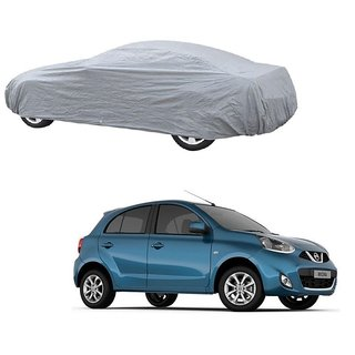 DrivingAID UV Resistant Car Cover For Fiat Petra (Silver Without Mirror )