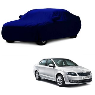RoadPluS Car Cover For Renault Lodgy (Blue With Mirror )